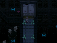 Radiant ruins detour door