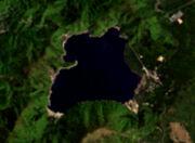 Lake motosu landsat