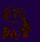 YN Famicom World Overworld Map (W. Locations Marked)