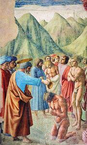 Battesimo dei neofiti (restaurato)