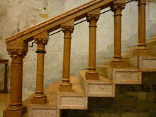 Balustrade in San Zeno, Verona
