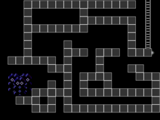 Static Maze path
