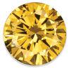 DiamondRound Yellow-HPHT-SI1 1.00ct