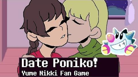 Let's Play Yume Nikki Date Poniko (fan visual novel)
