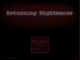 Returning Nightmares
