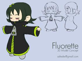 Fluorettemodel