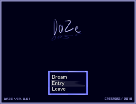 DazeTitleScreen