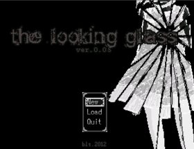 Looking glass title screen