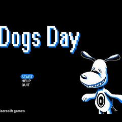 The minigame, Dogs Day.