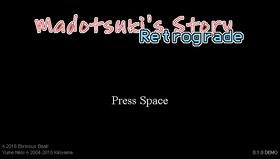 Madotsukisstoryretrogradetitle