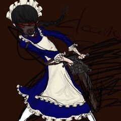 Art of the gas mask maid. <a rel=