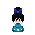Blue Dress Effect I