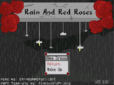Rain And Red Roses