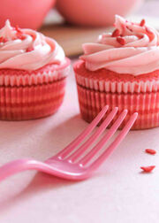Cherry Kool Aid Cupcakes