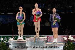 2009 WC Ladies Podium