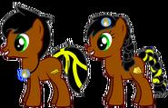 Joshua and Katrina (with Princess Yuna's Company Logos)
