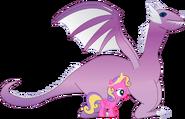 Skyla and her Crystal Dragon