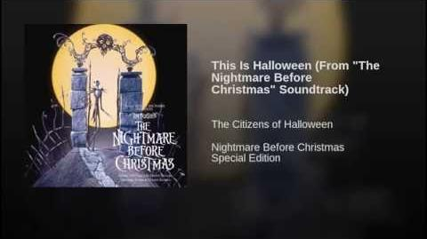 """This Is Halloween (From """"The Nightmare Before Christmas"""" Soundtrack)"""