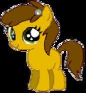 Golden Apple (with Princess Yuna's Company Logo)