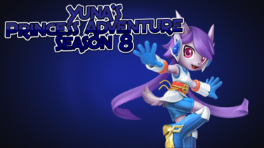 Yuna's Princess Adventure Season 8 poster