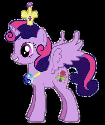 Princess Lilly Sparkle Rose