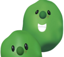 Jean-Claude and Philippe the French Peas
