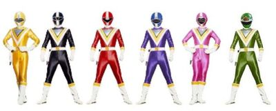 Supersonic Force Rangers