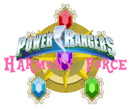 Power Rangers Harmony Force Logo
