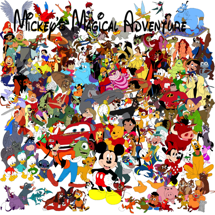 Mickey's Magical Adventure poster