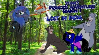Lost in India Poster