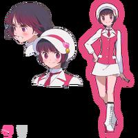Ginko Yurishiro Human Form