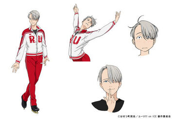 Victor Nikiforov Yuri On Ice Wikia Fandom Powered