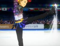 Kenjirou Minami on ice