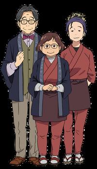 Family of Katsuki Char
