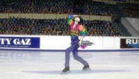 Seung-gil Lee on ice