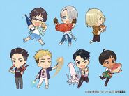 Saga On Ice Chibi Set 1