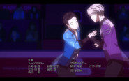 Viktor and Yuuri on the ice 4