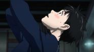 Yuuri after his imitation of Viktor