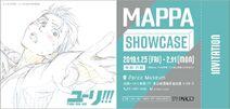 MAPPA showcase Yoi ticket