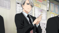 Victor as a trainer