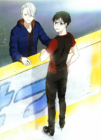 Official art Yuri and Victor