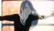 Viktor with long hair