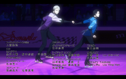 Viktor and Yuuri on the ice 5
