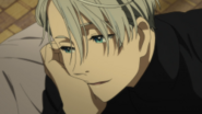 Viktor sweetly gazing at yuuri EP7