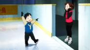 Yuuri as a child