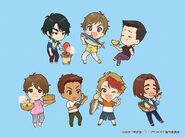 Saga On Ice Chibi Set 2