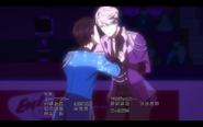 Viktor and Yuuri on the ice 3