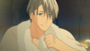 Viktor after his shower