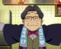 Toshiya is a fan of Sagan Tosu