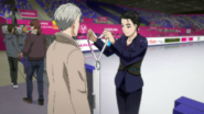 Yuuri wins the second place